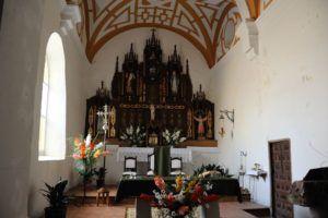 Altar en la iglesia de San Lorenzo