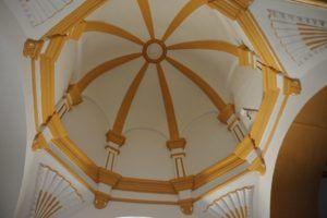 Bóveda de la capilla