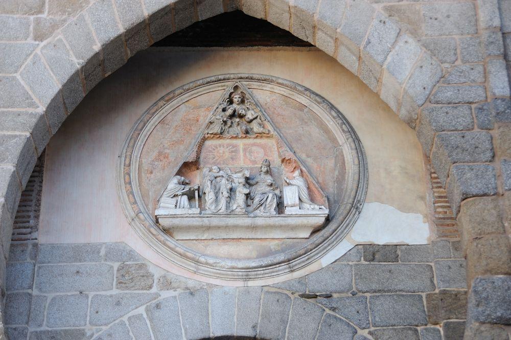 Detalle la puerta del Sol en Toledo II