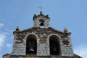 Espadaña en la iglesia de Bustares I