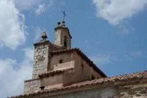Espadaña en la iglesia de Bustares II