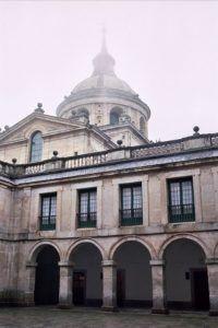 Interior del monasterio de San Lorenzo de El Escorial