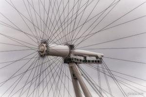 Los radios del London Eye