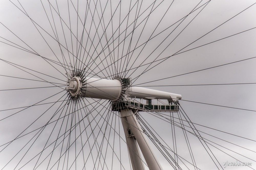 Los radios del London Eye