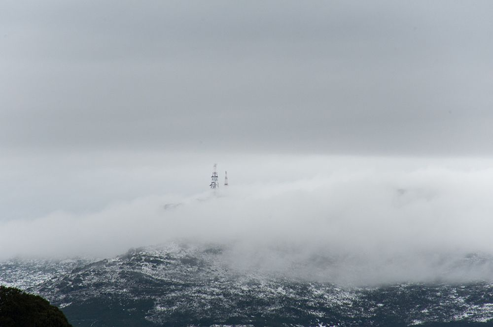 Nubes en el Alto Rey