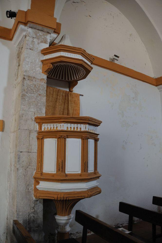 Púlpito en Bustares