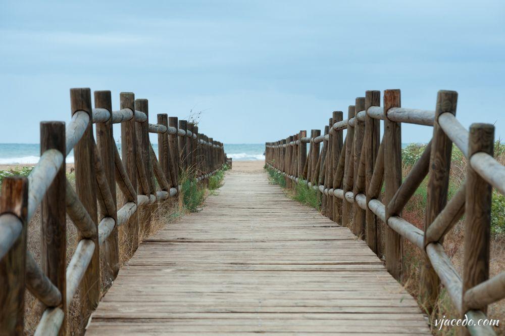 Pasarela a la playa