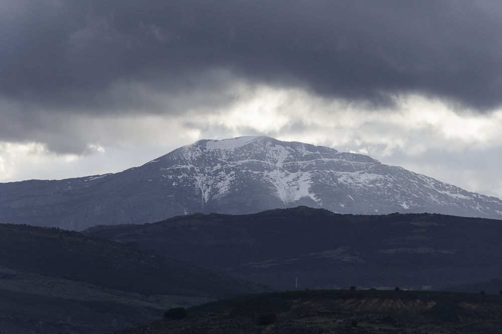 Pico Ocejón desde Villares