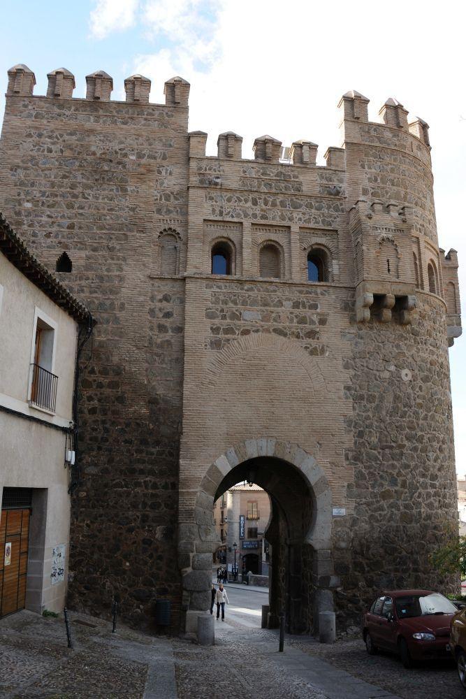 Traserade la puerta del Sol en Toledo